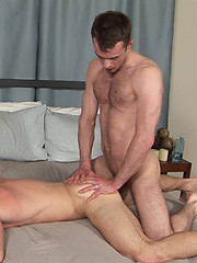 Grant\\\\\\\'s hairy muscle ass gets cock
