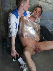 Ashton Bradley in his first Boynapped experience