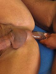 Interracial big-dicked gays scene
