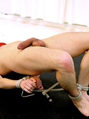 Devin Moss in gay bounding scene