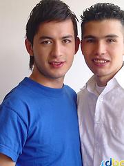 Latin gay cousins fucking bareback