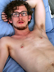 Pretty Canadian student showing his hard dick