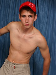 Euro twink getting naked