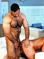Muscle man ass fucked