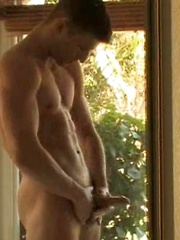 College dude do jacking off