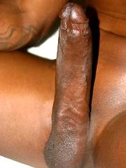 Flash brown showing huge dick