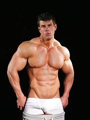 Zeb atlas shows his perfect muscled body