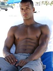 Muscled latin guy