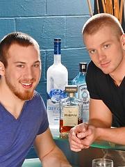 Gay man rims buddys hole before deep cock penetration
