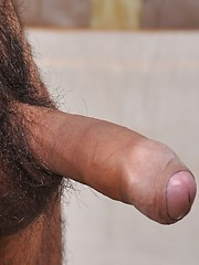 Hairy dad Nicko Morales makes his industry debut with us