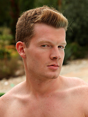 Hugo Mex is straight, strawberry blonde, a porn virgin and a very handsome young German lad
