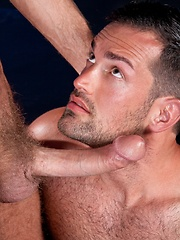 Couple of gay models Andrew Justice and Rich Kelly