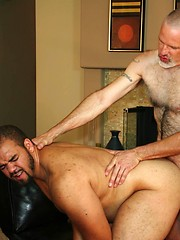 Trevor bends Knotty Cub over and does what he does best, fuck a hot ass