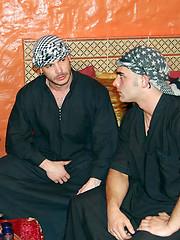 Arab-themed scene with Tomyhawk and Adrian Toledo