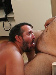 Spanish Bears Jorcano Garcia and Pep Tormenta work up a heated sweaty sex session before their afternoon siesta