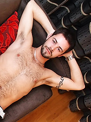 Patrick Hill is hairy young lad with a tasty cock and balls full of cum!
