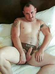 Rough-and-ready Maximus O Connell prepares for his latest sexual conquest