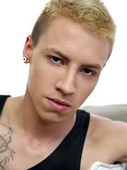 Hot blonde club boy Jonny B. Good