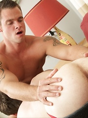 New hotties Andrew Collins and Cooper Reed in the house