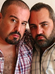 Sucking, rimming, sweating and fucking hard is all these Spanish Bears scene