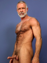 Allen Silver is just the kind of sexy bear you'll want to be your moving man