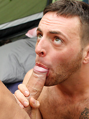 Campers Cock Sucking Orgy