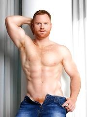 Sexy redhead model Seth Fornea