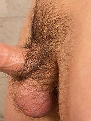 Dustin shows his pretty cock