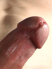 Brutal stud plays with his cock
