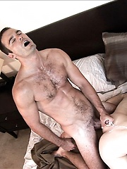 Andrew Collins is in for a great awakening because Cameron Kincade has morning wood