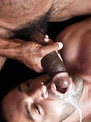 Exclusive Sean Xavier's Big Black Cock Rips Apart Dominic Pacifico