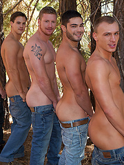 Mountain Getaway: Day 4.David, Tanner, Bryce, Andy, Coleman, Noel
