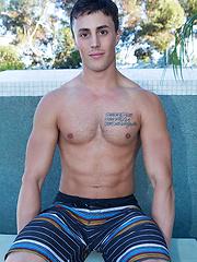 Sexy jock Bradon solo pics