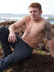 Sexy redhead  guy Adam