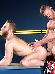 Raging Stallion: Cock Fight! Shawn Wolfe & Landon Conrad