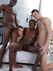 Dick Casey's Smokin' Hot Ass Gets The Interracial Double-Penetration It Deserves!