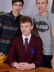 Two Exchange Students Give Lucius York A Real
