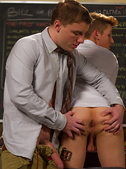 Doug does what Casey desires which is to get fucked hard by the Professor 9.5 inch dick