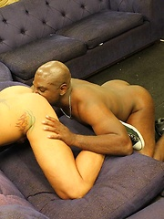 Dylan Saunders Gets Off With Big Black Cock Up His Ass
