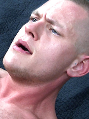 Newcomer Mark appears like a bandit with his dark shirt and dark beenie in this scene.  He ...