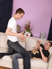 Sexy young buck Lukas is back this week with a smoooth lean twink named Lukas. Luke, we called ...