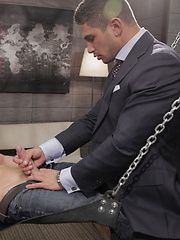 Darius gets on a sling for the first time and receives the ass-pounding of a lifetime from Dato's hard cock