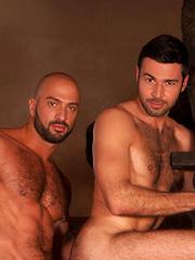 Italian stud Bruno Boni paired with hung superstar Dario Beck