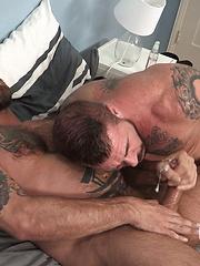 Rocco Steele Barebacks Jake Deckard