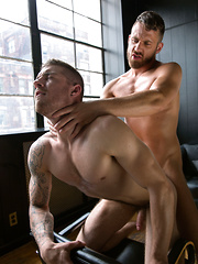 Logan Moore and Tryp Bates Flip-Fuck!