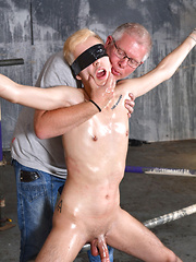 Whipped And Wanked Off!