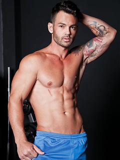 gay porn model Adriano Carrasco
